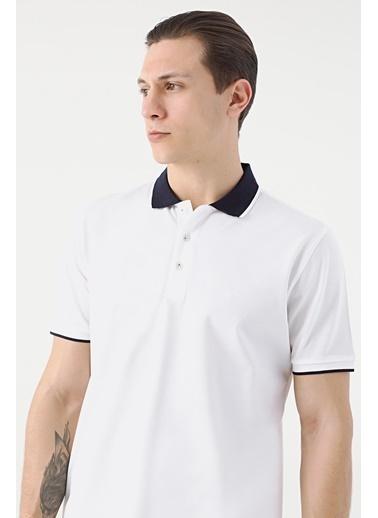 Damat 60/2 Merserize T-Shirt Beyaz